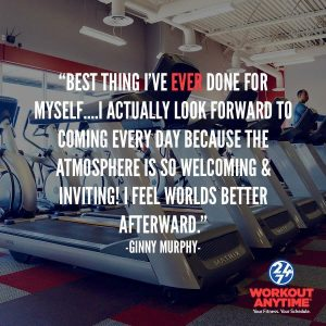 Workout Anytime Member Testimonial