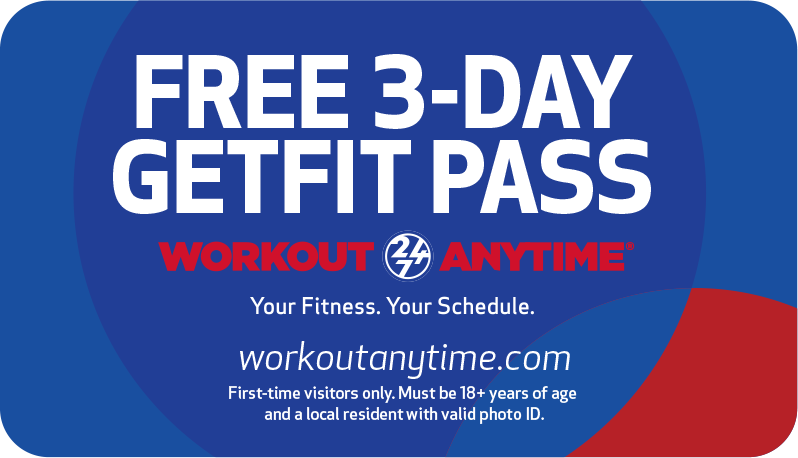 Workout Anytime Free GetFit Pass