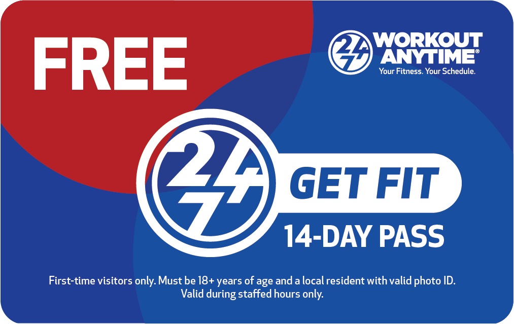 Workout Anytime Free 14-Day GetFit Pass
