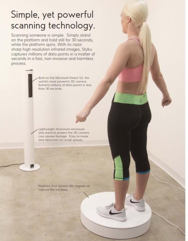 Sumter Gym Adds the Styku 3-D Scanner to its Fitness Support