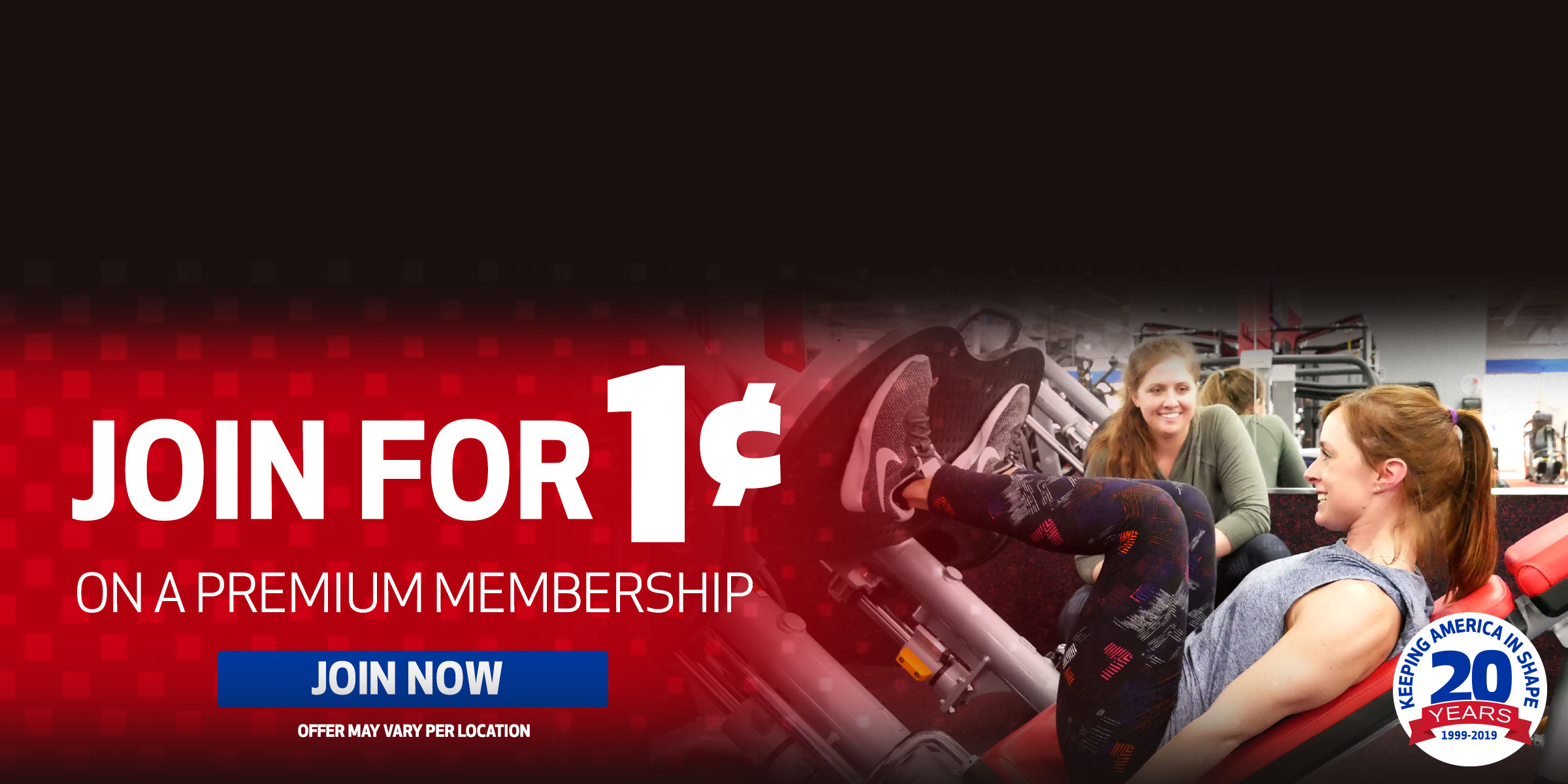 Join for 1¢ on a Premium Membership