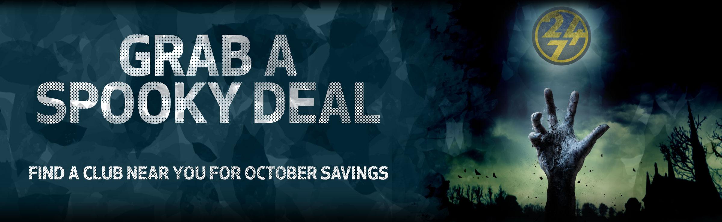 Grab a Spooky Deal